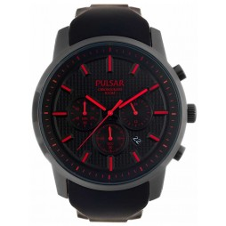Pulsar Mens Chronograph Strap Watch PT3195X1