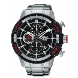 Pulsar Mens Chronograph Bracelet Watch PM3047X1