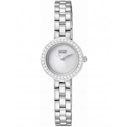 Citizen Ladies Crystal Bracelet Watch EX1080-56A