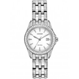 Citizen Ladies Silhouette Crystal Bracelet Watch EW1901-58A