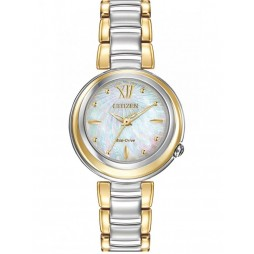 Citizen Ladies Sunrise Eco-Drive Watch EM0337-56D