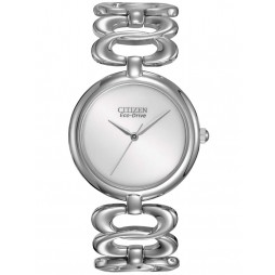 Citizen Ladies Silhouette Open Link Bracelet Watch EM0220-53A