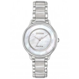 Citizen Ladies Circle Of Time Mother of Pearl Bracelet Watch EM0380-81D