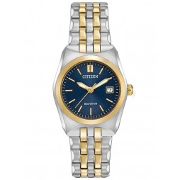 Citizen Ladies Two Tone Bracelet Watch EW2294-53L