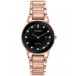 Citizen Ladies Axiom Diamond Rose Bracelet Watch GA1058-59Q