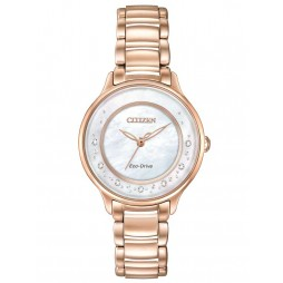 Citizen Ladies Eco-Drive Diamond Watch EM0382-86D