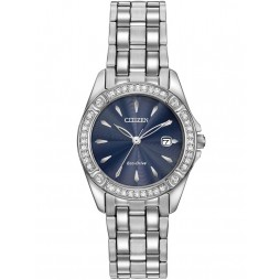 Citizen Ladies Eco-Drive Crystal Watch EW2350-54L