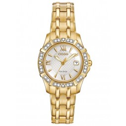 Citizen Ladies Eco-Drive Silhouette Diamond Watch EW2362-55A