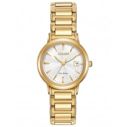 Citizen Ladies Eco-Drive Gold Bracelet Watch EW2372-51A