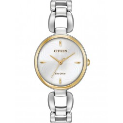 Citizen Ladies Eco-Drive Stainless Steel Bracelet Watch EM0424-53A