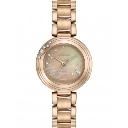 Citizen Ladies Eco-Drive L-Carina Diamond Bracelet Watch EM0463-51Y