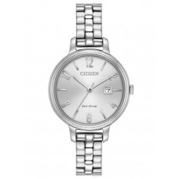 Citizen Ladies Chandler Mesh Bracelet Watch EW2440-53A