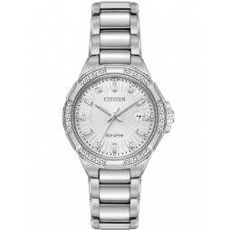 Citizen Ladies Riva Diamond Bracelet Watch EW2460-56A