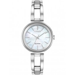 Citizen Ladies Axiom Mother Of Pearl Watch EM0630-51D