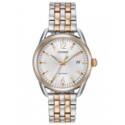 Citizen Ladies LTR Date Two Tone Bracelet Watch FE6086-74A