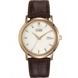 Citizen Mens Corso Brown Strap Watch BM7193-07B