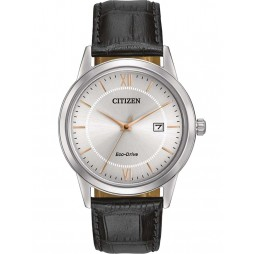Citizen Mens Eco-Drive Strap Watch AW1236-03A