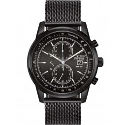 Citizen Mens Mesh Chronograph Watch CA0338-57E