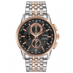 Citizen Mens World Chronograph Watch AT8116-57E