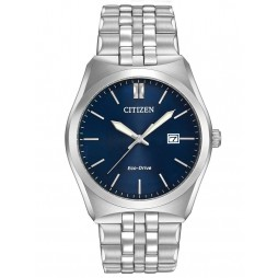 Citizen Eco-Drive Stainless Steel Dark Blue Watch BM7330-59L