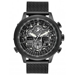 Citizen Mens Navihawk Black Watch JY8037-50E