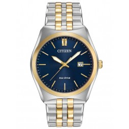 Citizen Mens Corso Two Tone Bracelet Watch BM7334-58L