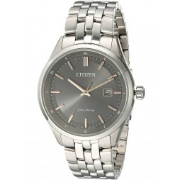 Citizen Mens Eco-Drive Stainless Steel Bracelet Watch BM7251-53H