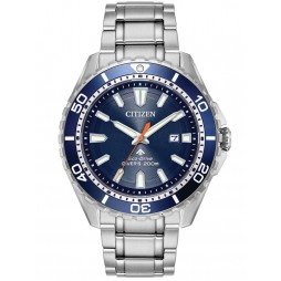 Citizen Mens Promaster Diver Azure Blue Bracelet Watch BN0191-55L