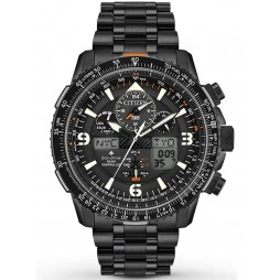 Citizen Mens Promaster Skyhawk A-T Black Bracelet Watch JY8075-51E