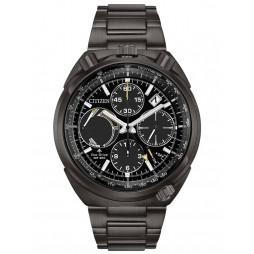 Citizen Mens Eco Drive Limited Edition Tsuno Chronograph Racer Bracelet Watch AV0077-82E