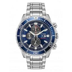 Citizen Mens Promaster Diver Chronograph Bracelet Watch CA0710-82L