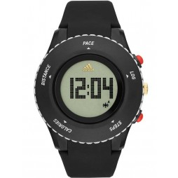 Adidas Mens Sprung Digital Activity Tracker Strap Watch ADP3220