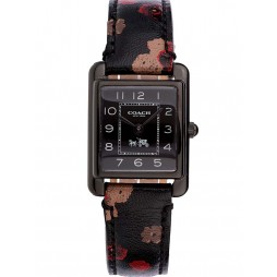 Coach Ladies Brown Leather Band Page Watch 14502013