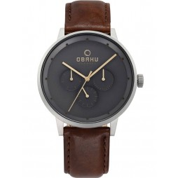 Obaku Mens Brown Venlig Cloud Watch V208GMCJRN