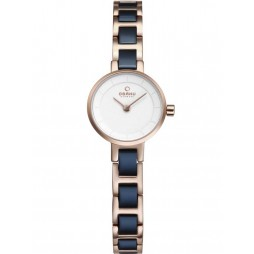 Obaku Ladies Two Tone Bracelet Watch V198LXVISL