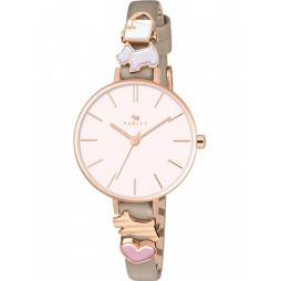 Radley Ladies Time After Time Rose Gold Strap Watch RY2408
