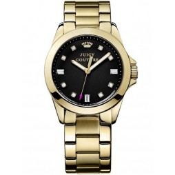 Juicy Couture Ladies Stella Gold Watch 1901122