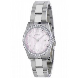 Rotary Ladies Stone Set Watch LB02343-07