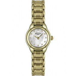 Rotary Ladies Gold Plated Bracelet Watch LB02604-41