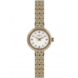 Rotary Ladies Gold Plated Bracelet Watch LB2088-02
