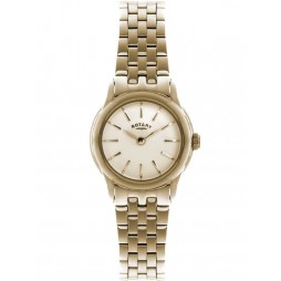Rotary Ladies Verona Gold Plated Bracelet Watch LB02573-01