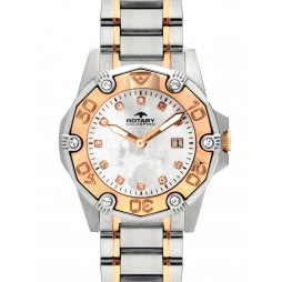 Rotary Ladies Aquaspeed Two Tone Watch ALB00033/W/40