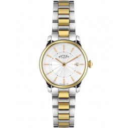 Rotary Ladies Locarno Gold Toned Watch LB02772/06