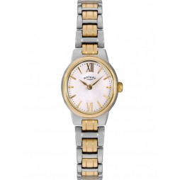 Rotary Ladies Olivie Two Tone Bracelet Watch LB02747/01