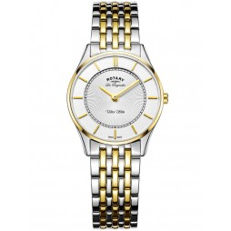Rotary Ladies Ultraslim Two Tone Bracelet Watch LB90801/41