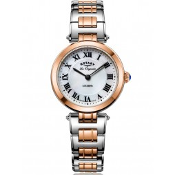 Rotary Ladies Les Originales Lucerne Two Tone Bracelet Watch LB90187/41