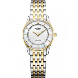 Rotary Ladies Two Colour Ultra Slim Watch LB08301/41