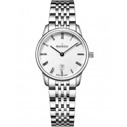 Dreyfuss Ladies Silver 1890 Watch DLB00146/01