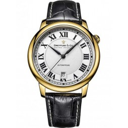 Dreyfuss and Co Classic Automatic Strap Watch DGS00150/01