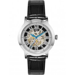 Rotary Mens Steel Black Automatic Watch GS90530/10